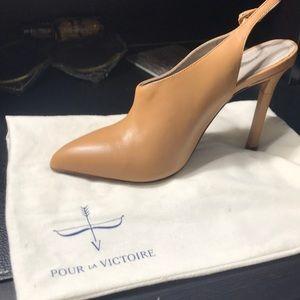 Pour La Victoire Zen Slingback Booties